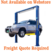 Powerrex 2 post 4 ton clear floor lift