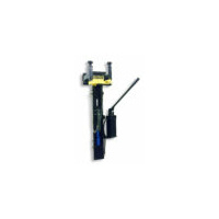 Wall mount spring compressor